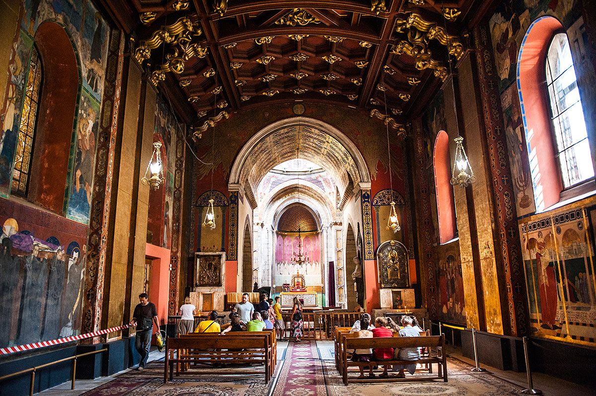 Інтер'єр Вірменської церкви