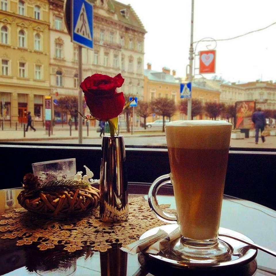 кава у львові