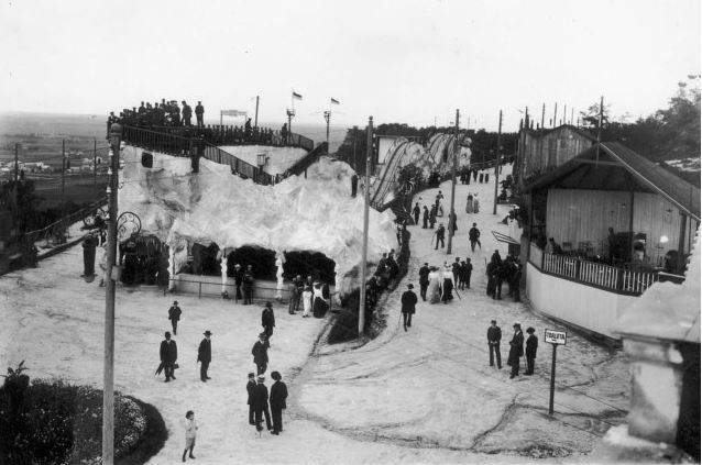 Луна-парк на Кайзервальді Фото 1908-го року