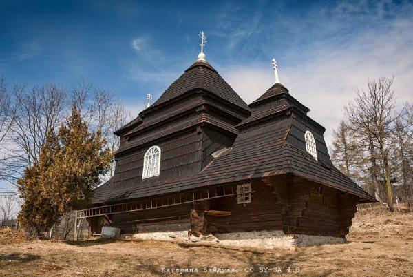 Михайлівська церква, об'єкт Світової спадщини ЮНЕСКО, село Ужок (Закарпатська область). Авторка фото — Катерина Байдужа