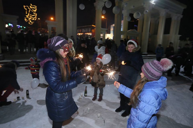 Минулорічне святкування, фото Євгенія Кравса
