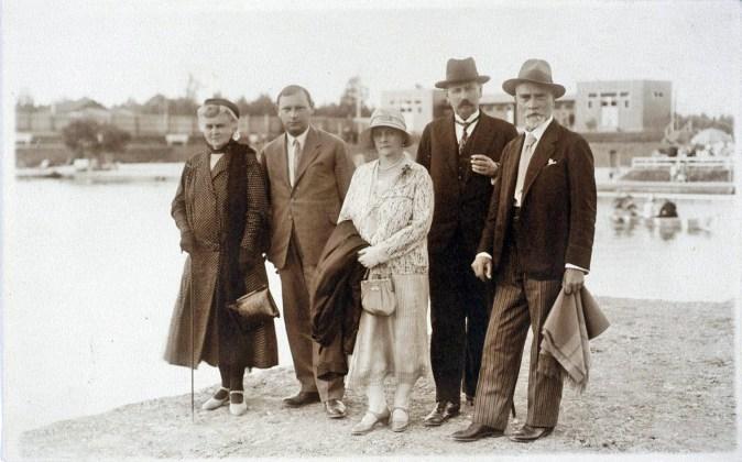 На курорті «Помярки», до 1939 р.