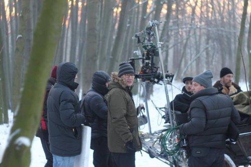 На зйомках у Брюховичах