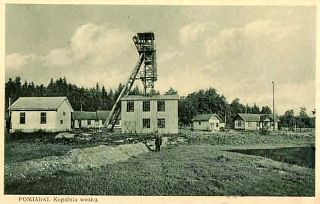 Помірки. Копальня воску, до 1939 р.