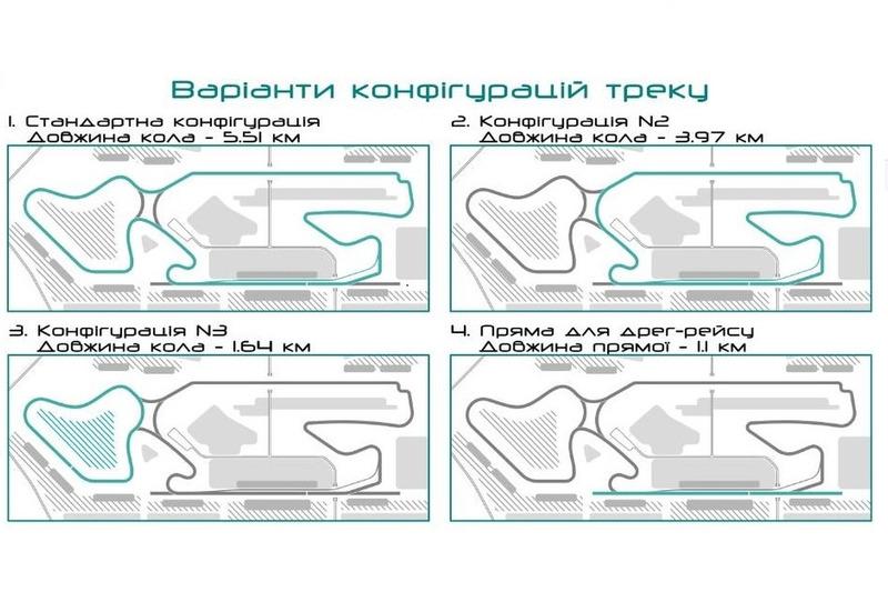 проект траси для «Формули-1» у Львові