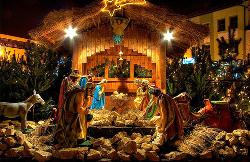 різдво шопка