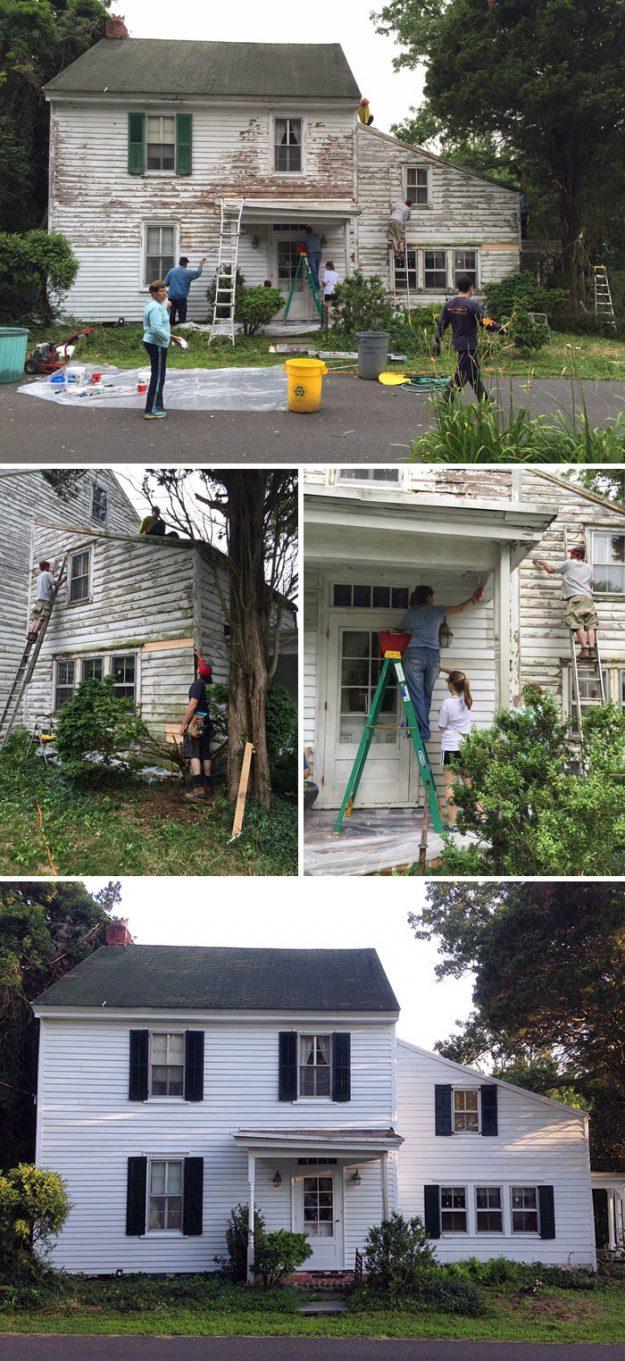 Сусіди просто так відремонтували будинок вчительки - вона була самотня і ніхто не Спешилов на допомогу