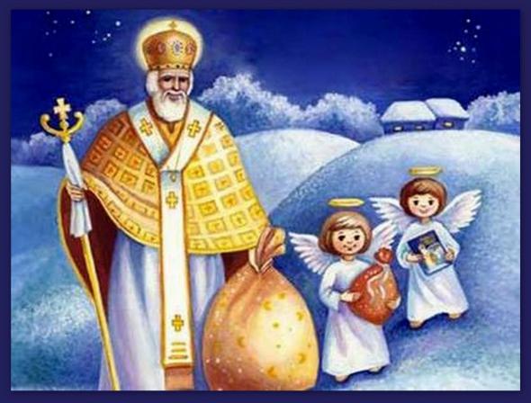 Святий Микола з янголятами
