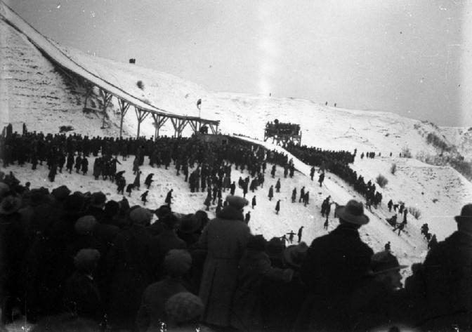 Трамплін на Кайзервальді Фото 1930-1939-х років