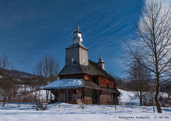 Василівська церква, село Сіль (Закарпатська область). Катерина Байдужа
