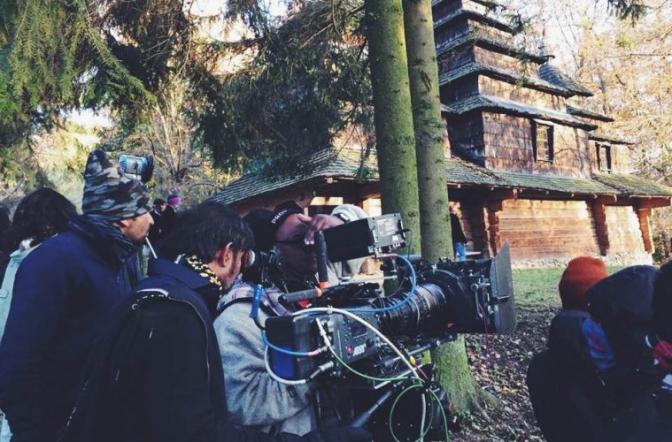 зйомка індійського кіно у шевченківському гаю