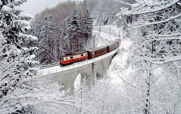 ворохта потяг зима