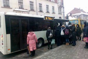 На маршрутах міста з'явились нові автобуси
