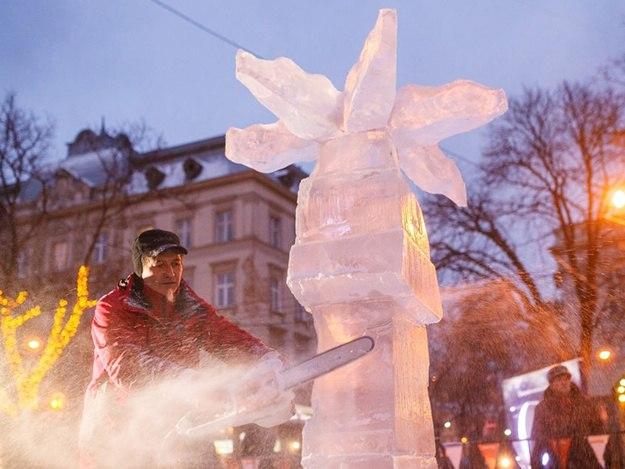 конкурс льодових скульптур