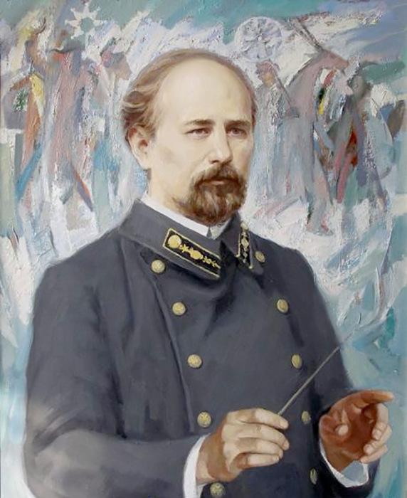 Автор «Щедрика» Микола Леонтович.