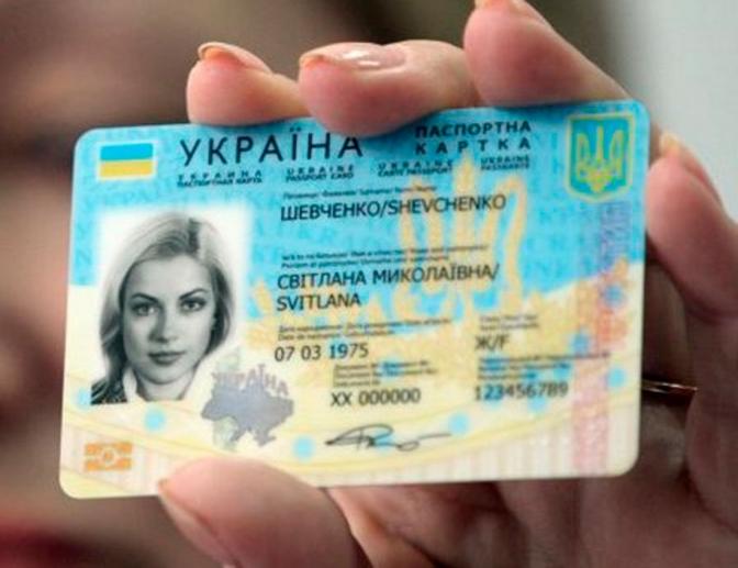 ID-картка новий пластиковий паспорт