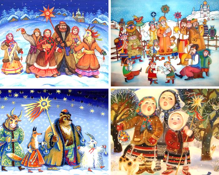 казкові вертепи на різдво