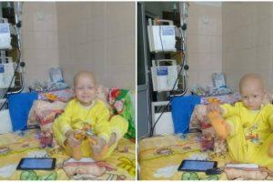 Львів'ян просять допомогти 3-річному Макару побороти рак