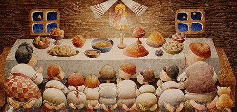 Традиції святкування Свят-вечора та Різдва.
