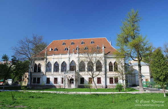 Палац графів Туркулів-Комелло