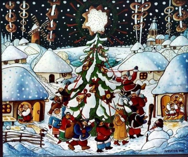 Різдво, Коляда, Новоріччя