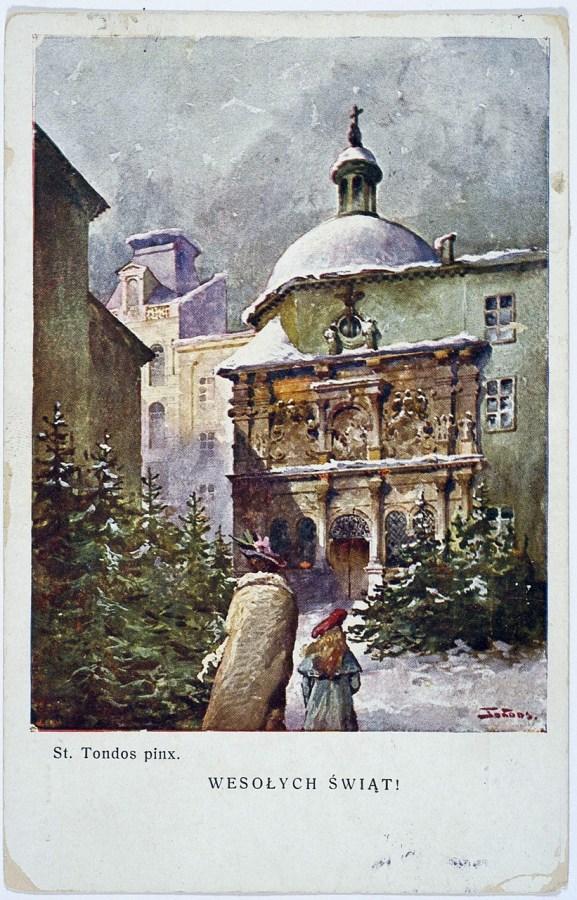 Станіслав Тондос. Веселих свят, 1926 р.