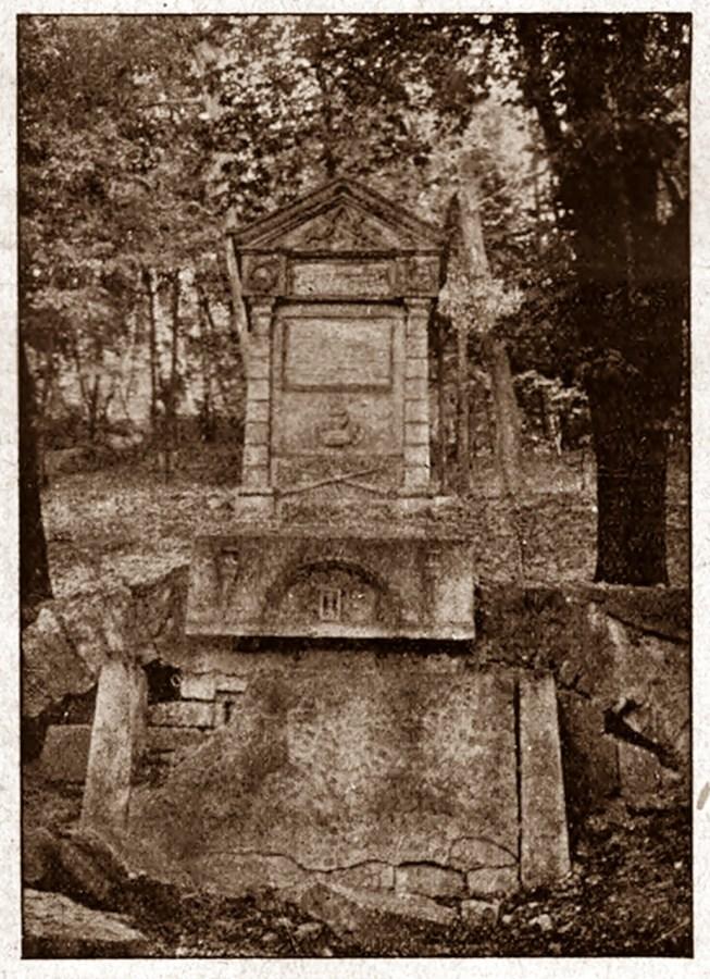 Могила на Папарівці під Високим замком, 1930 р.