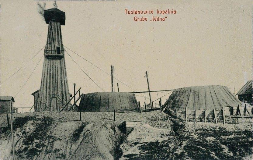 Нафтові вишки Тустановичі, 1910 рік