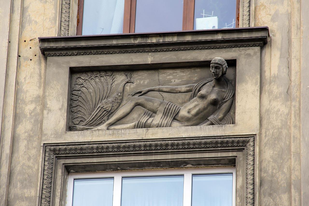 """Павич. Фердинанд Касслер. Початково будинок французької нафтової компанії """"Прем'єр"""". Вул. Князя Романа, 26"""