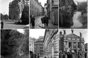 Чорно-білі фотографії Львова 1964 року