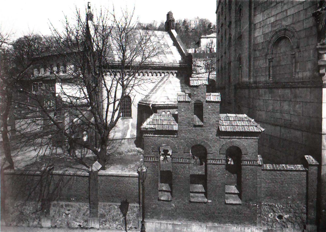 Дзвіниця Храму Св. Івана Хрестителя, 1917 рік