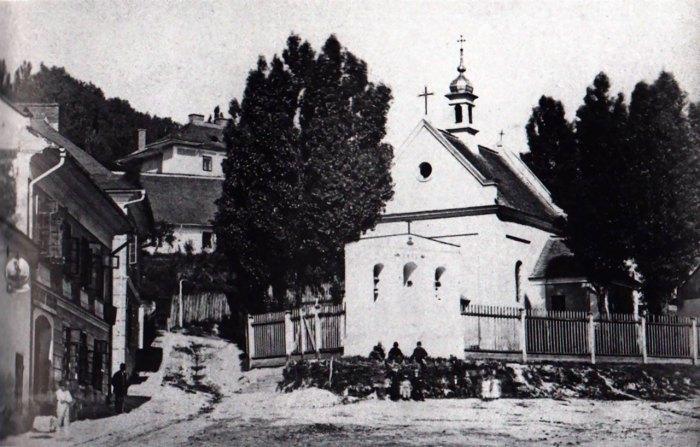 Фото храму Івана Хрестителя 1870-1880-х років