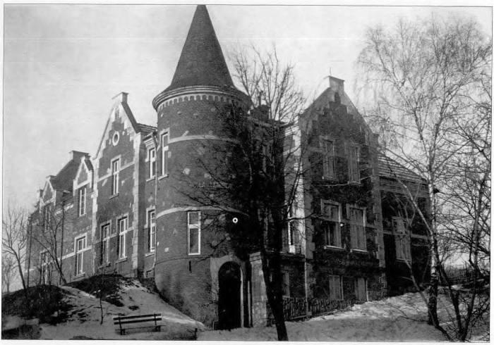 Фото вілли Ломниця 1930 року