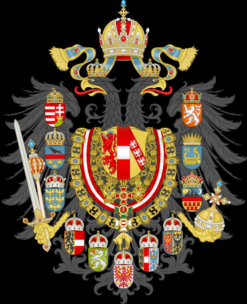 Герб Австро-Угорської Іпмерії в 1867 – 1918 рр.