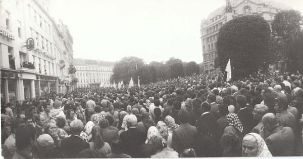 Львів, 1989 р. Архів центру досліджень визвольного руху (ЦДВР)