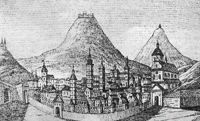 Львів, панорама XV століття