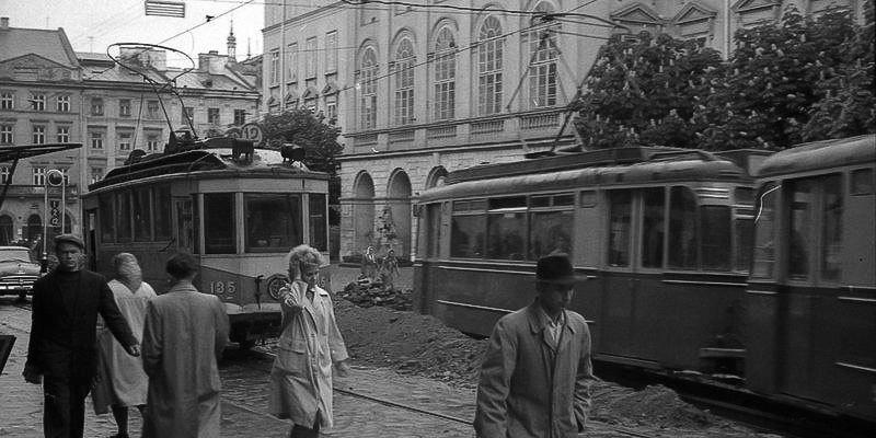 Львів, площа Ринок, 1964 рік