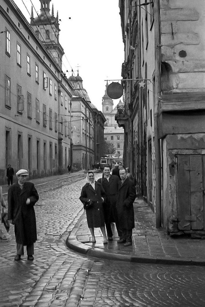Львів, вулиця Руська, 1964 рік
