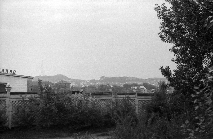 Львів, Зелений театр в парку культури, 1964 рік