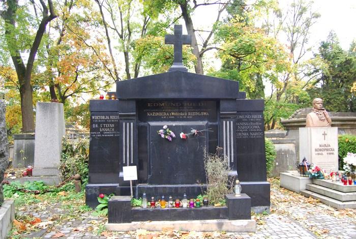 Могила Стефана Банаха