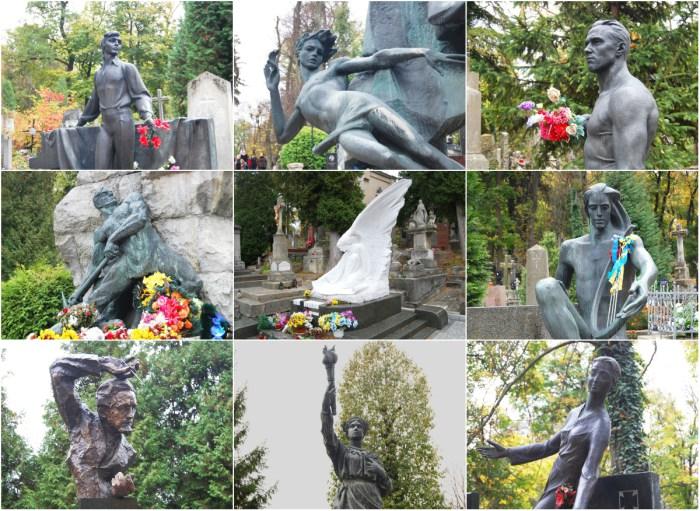 Найвідоміші могили Личаківського некрополя