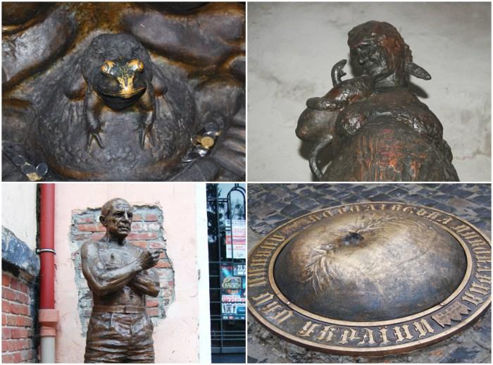 Незвичайні пам'ятники Львова