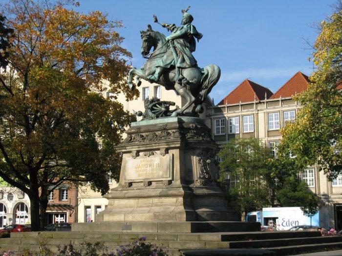 Пам'ятник королю Яну III Собеському у Гданську