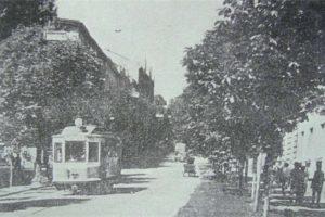 Трамвай №12, який курсував на Високий Замок. Раритетні фото