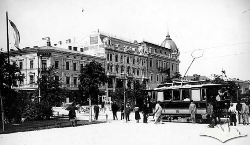 Трамвай на Проспекті Свободи (1910-ті)
