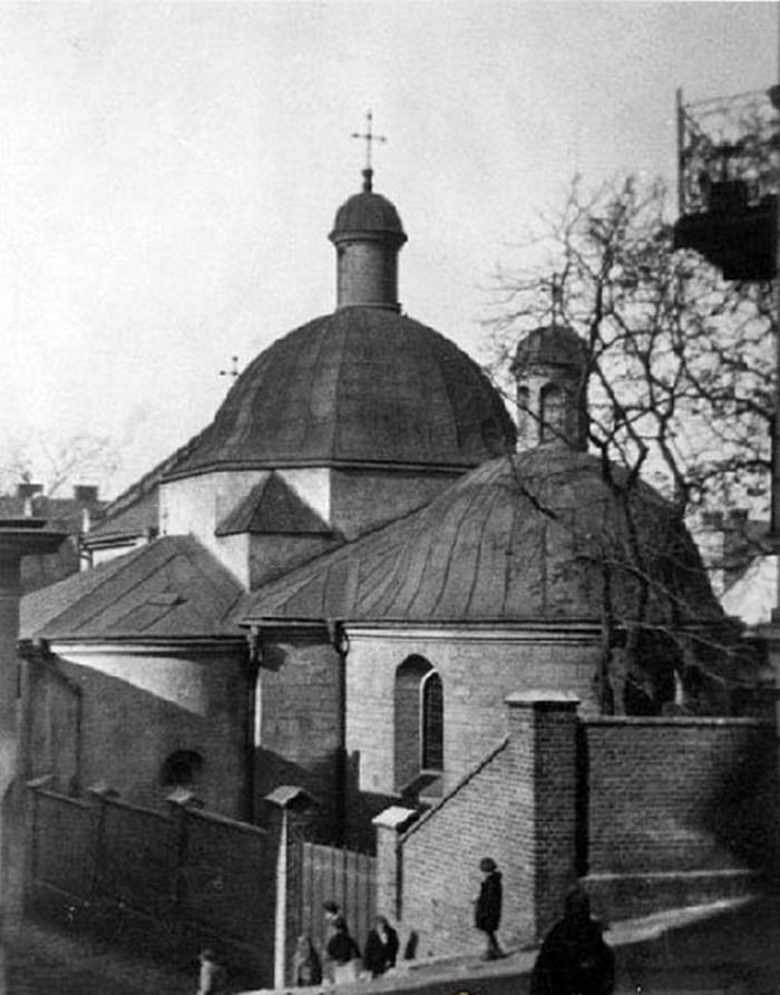 Церква Святого Миколая із тильної сторони, 1938 рік