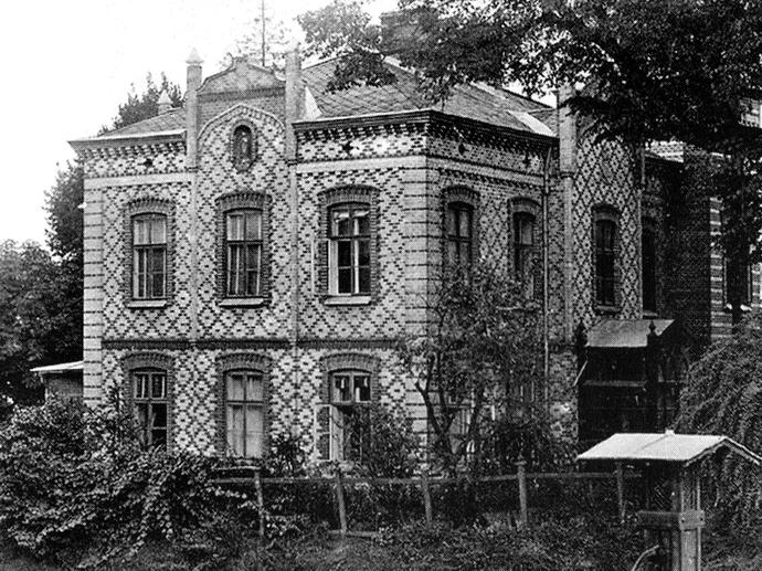"""Вілла """"Затишок"""" до реставрації, 1893"""