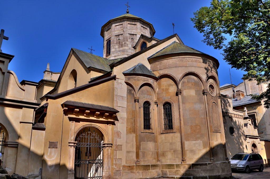 Вірменський кафедральний собор Успіння Пресвятої Богородиці