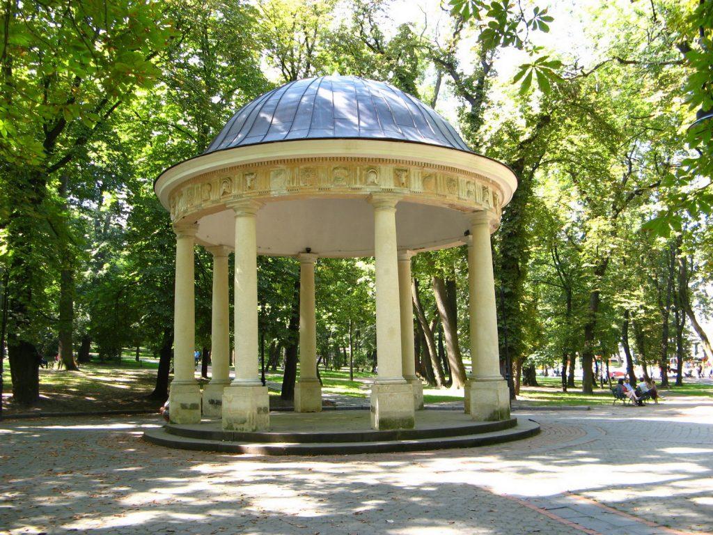 Альтанка у парку Франка