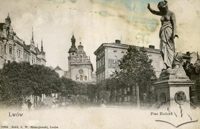 фонтан на площі Галицькій